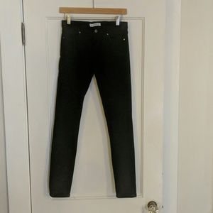 Banana Republic black skinny jeans, size 26